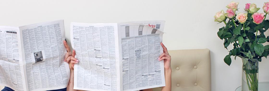Headerbild Zeitungen